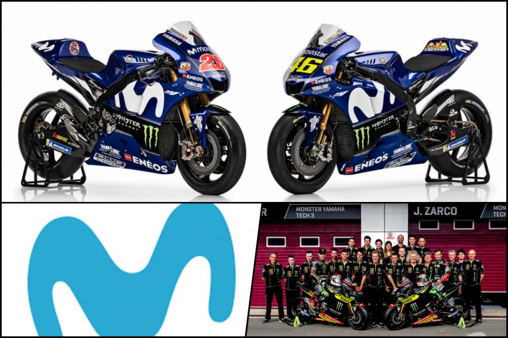 Movistar va Tech 3 dong loat ra di khoi Yamaha trong MotoGP 2019