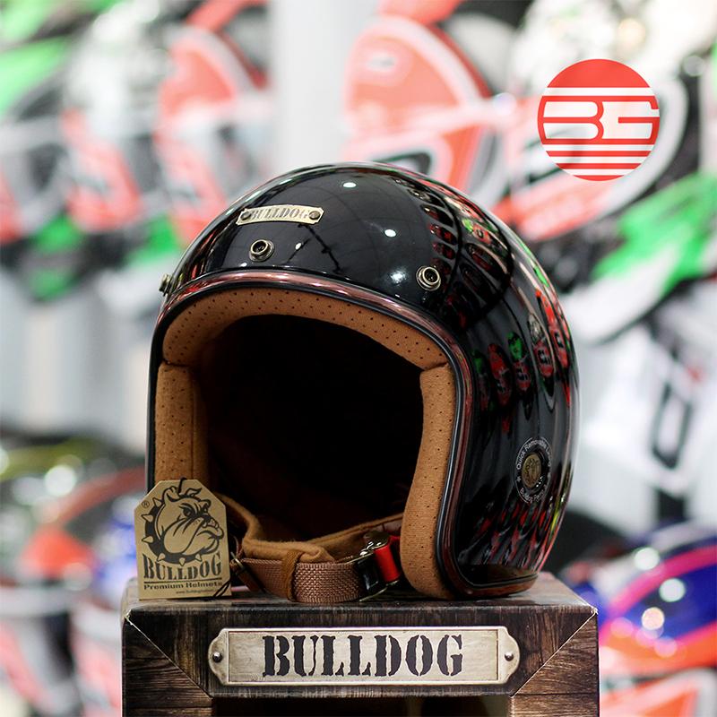 Non Bao Hiem 34 BULLDOG Perro V3 Model 2018