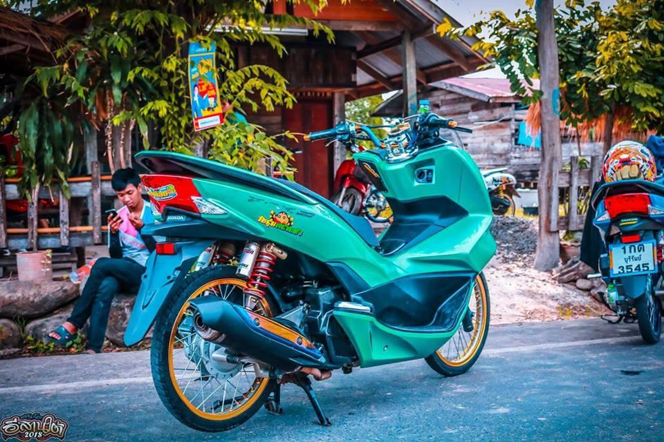 PCX 150 do cuc dinh voi option do choi dang cap tren dat Thai - 8