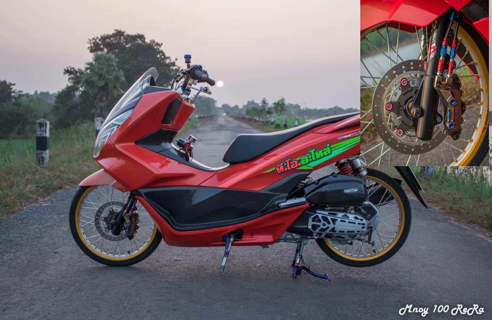 PCX 150 do dep nhat he mat troi khoe dang ben con duong lang - 5