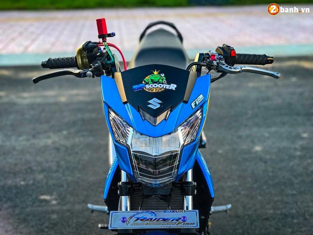 Raider 150 Fi do su goi cam toat len o phan dau cua biker Tien Giang