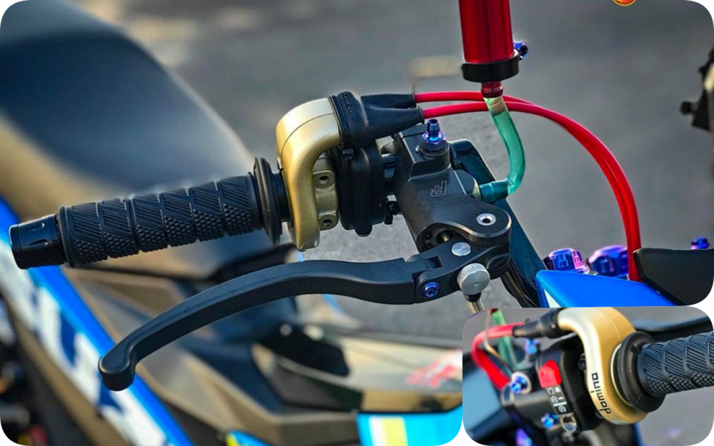 Raider 150 Fi do su goi cam toat len o phan dau cua biker Tien Giang - 5