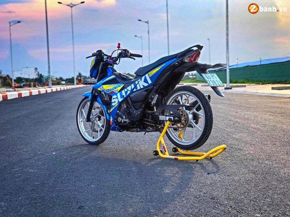 Raider 150 Fi do su goi cam toat len o phan dau cua biker Tien Giang - 7
