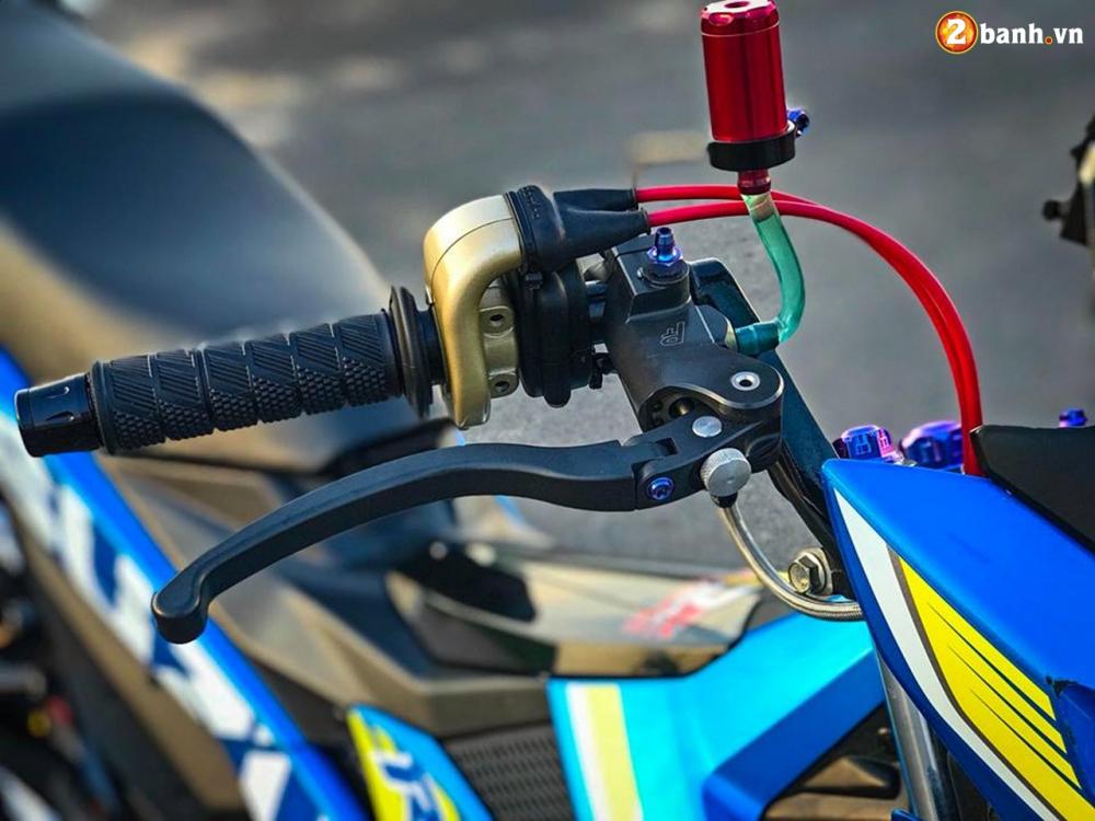 Raider 150 Fi do su goi cam toat len o phan dau cua biker Tien Giang - 9