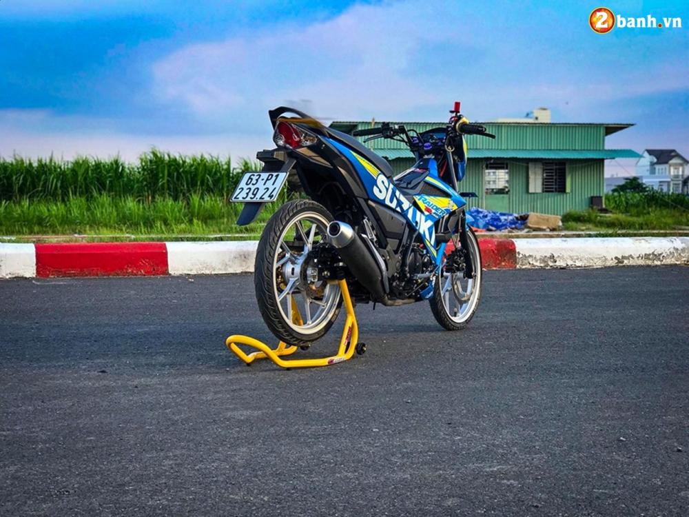 Raider 150 Fi do su goi cam toat len o phan dau cua biker Tien Giang - 16