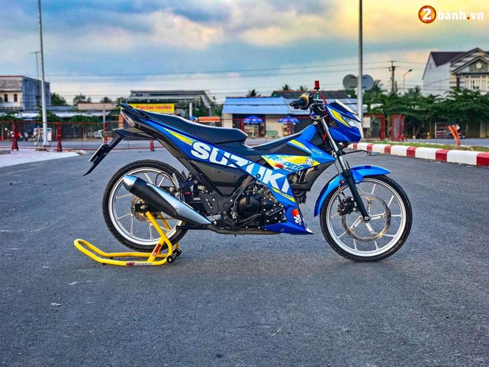 Raider 150 Fi do su goi cam toat len o phan dau cua biker Tien Giang - 15