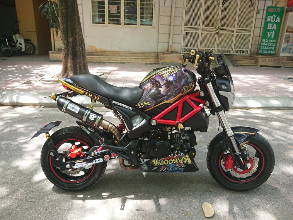 Rao ban Ducati Monster mini 110 chinh chu 2018 do tam huyet chat lu
