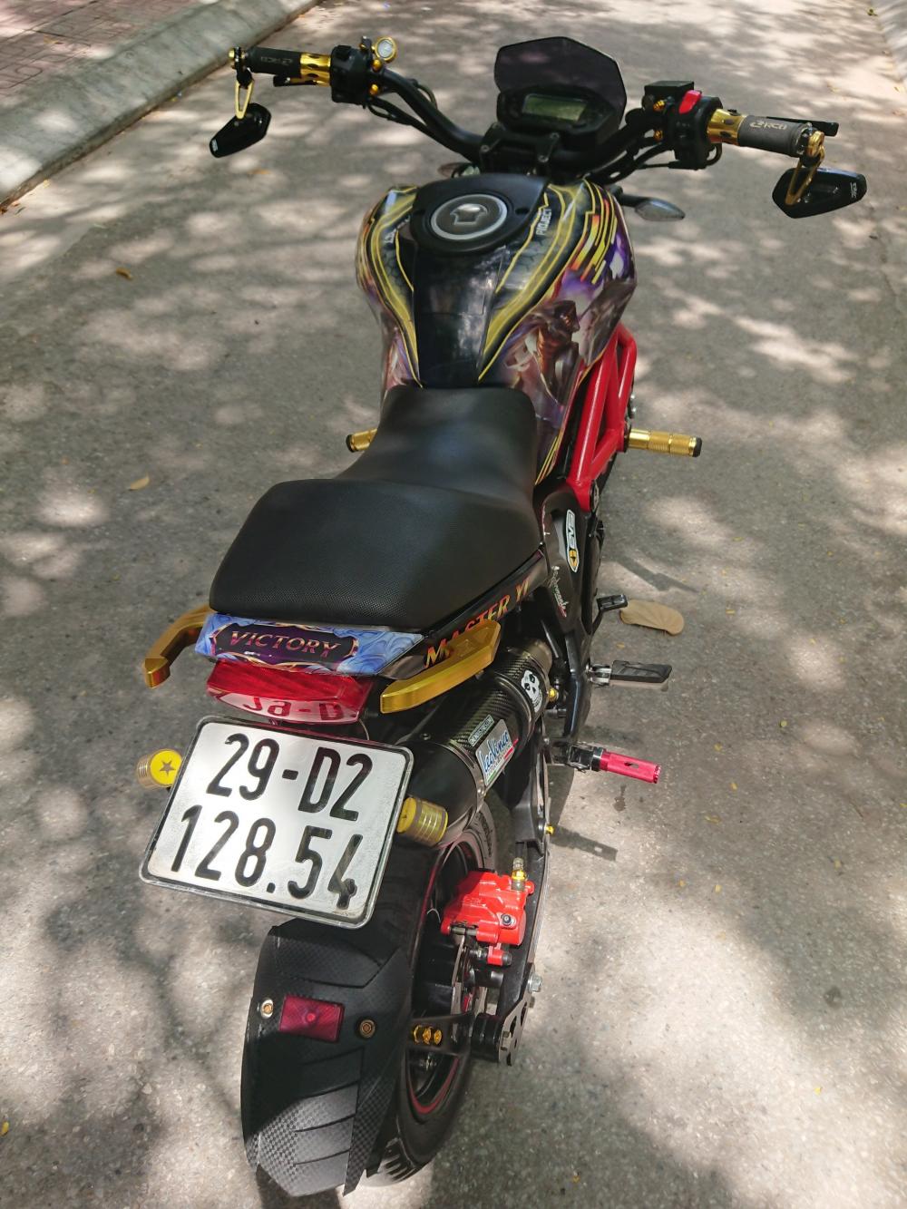 Rao ban Ducati Monster mini 110 chinh chu 2018 do tam huyet chat lu - 5