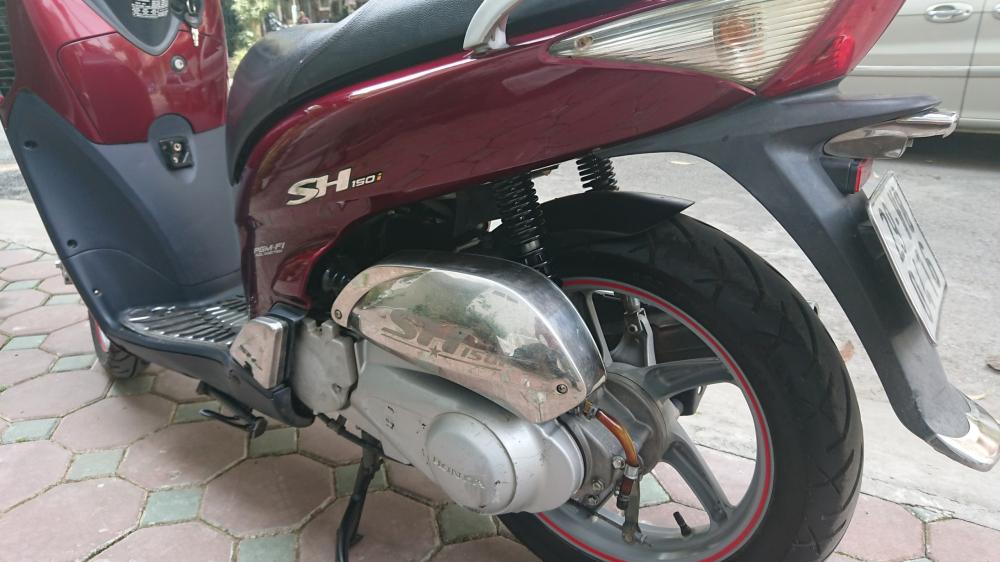 Rao ban Honda Sh 150i do man 2008 bien HN nguyen ban 57tr500 - 5