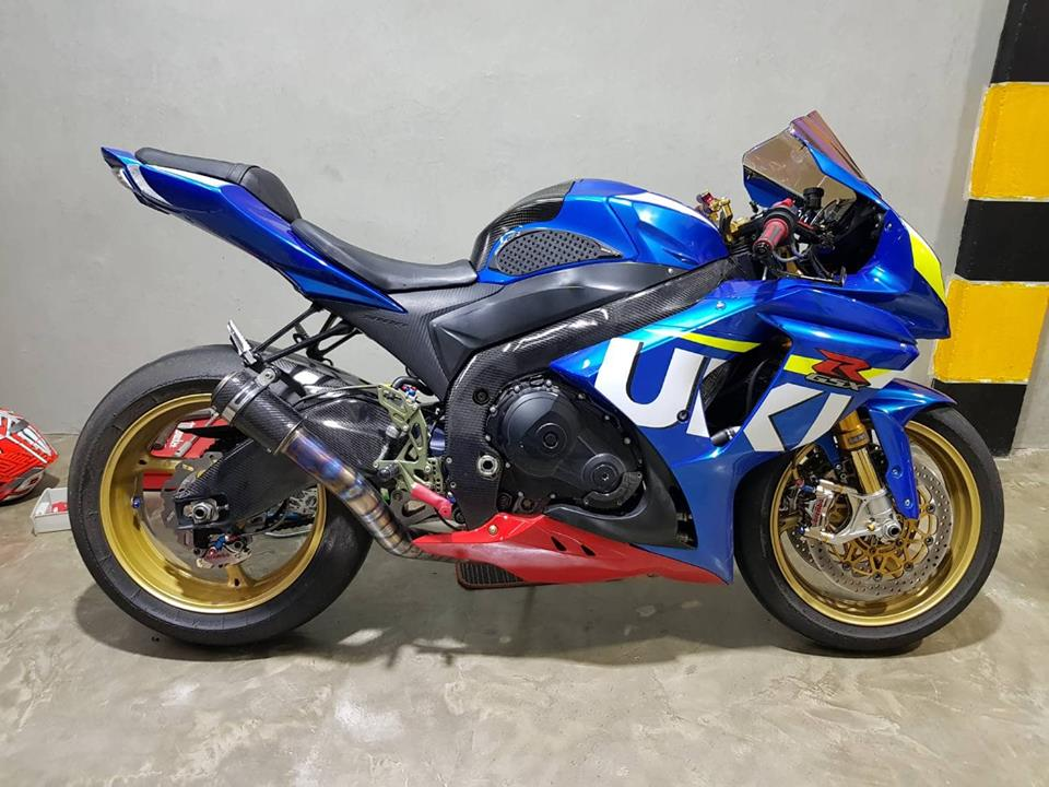 Suzuki GSXR1000 ban nang cap chi tiet tai NBB Racing