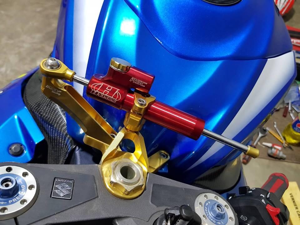 Suzuki GSXR1000 ban nang cap chi tiet tai NBB Racing - 6