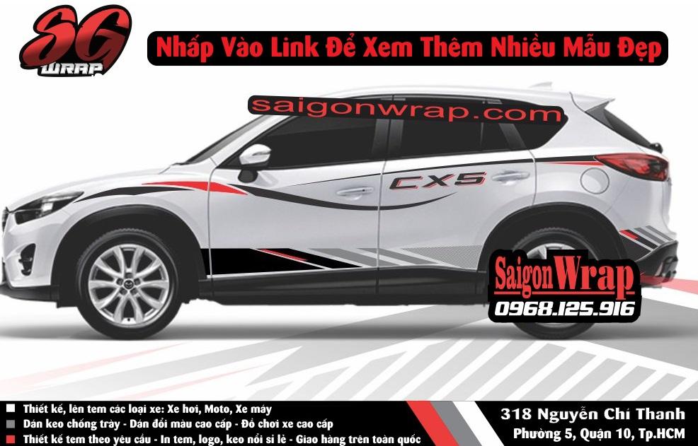 Tem Xe Mitsubishi Pajero Sport Kia Sorento Audi Q7 Isuzu MuX Lexus LX570 SaiGonWRAP