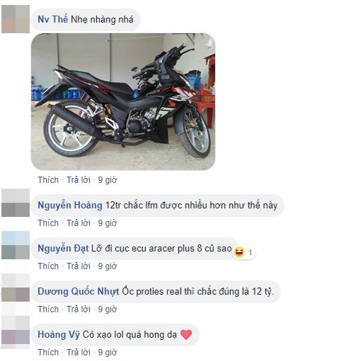 Thanh nien dap 12 trieu do chiec Winner 150 khien dan mang te ngua - 12