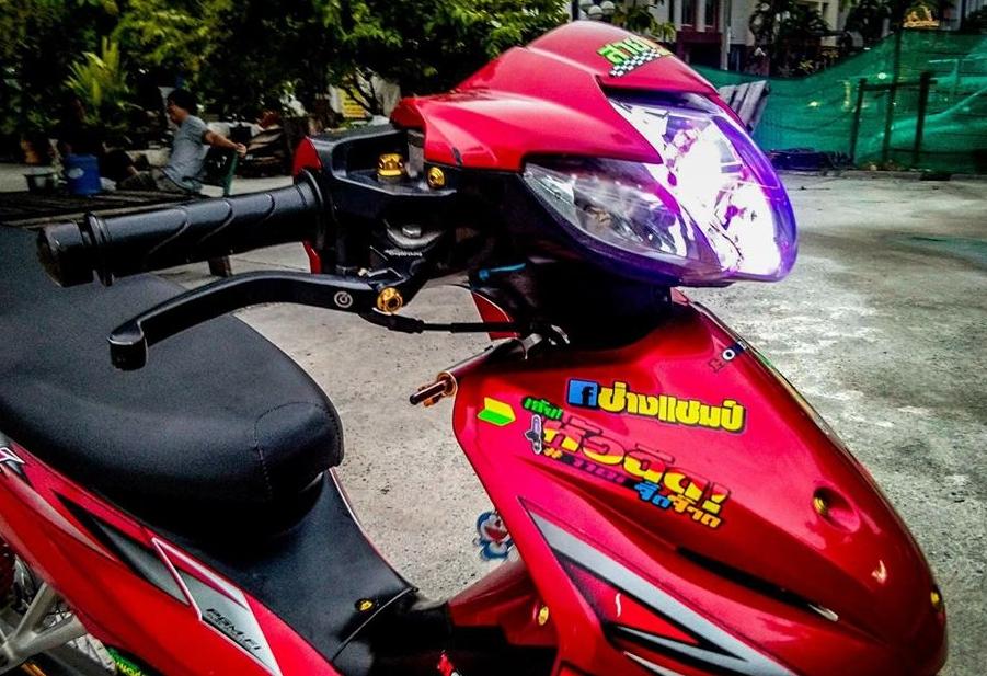 Wave 110 do gian don nhat thien ha cua biker xu chua vang - 4