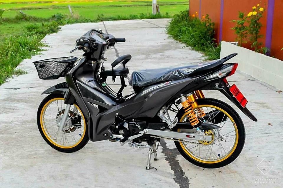 Wave 110 vua dap thung da do sieu dinh cua biker Thailand - 9