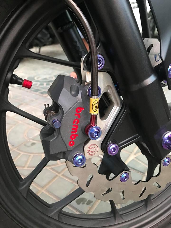 Winner 150 do dang cap voi option do choi gia tri cua biker mien Tay - 4