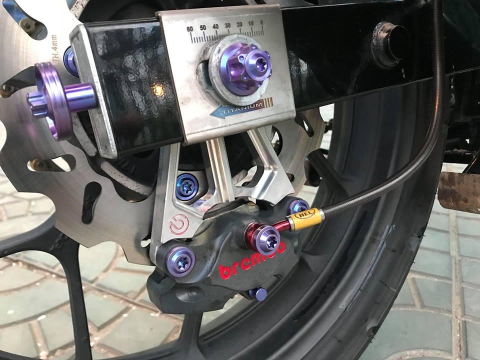 Winner 150 do dang cap voi option do choi gia tri cua biker mien Tay - 5