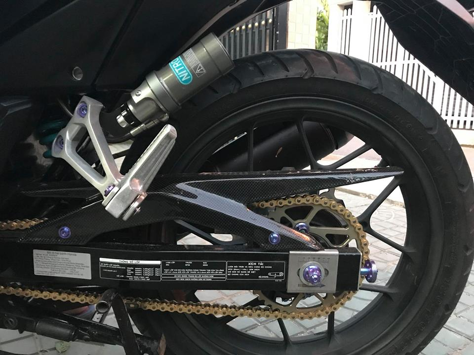 Winner 150 do dang cap voi option do choi gia tri cua biker mien Tay - 7