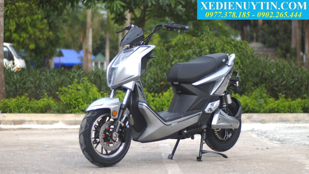 Danh gia xe may dien Xtreme V5 chinh hang 2018 - 5