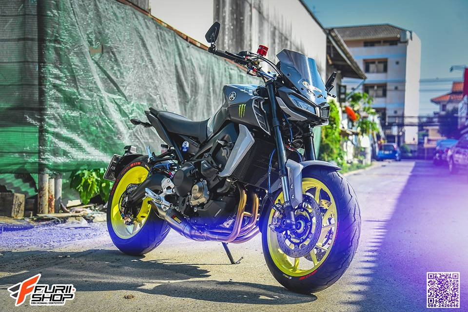 Yamaha MT09 ban nang cap vuot troi den tu xu Chua Vang - 3