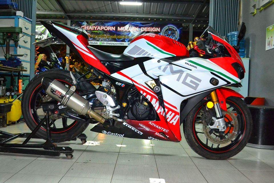 Yamaha R3 ban do khac biet mang ten R3M AMG V4 - 7