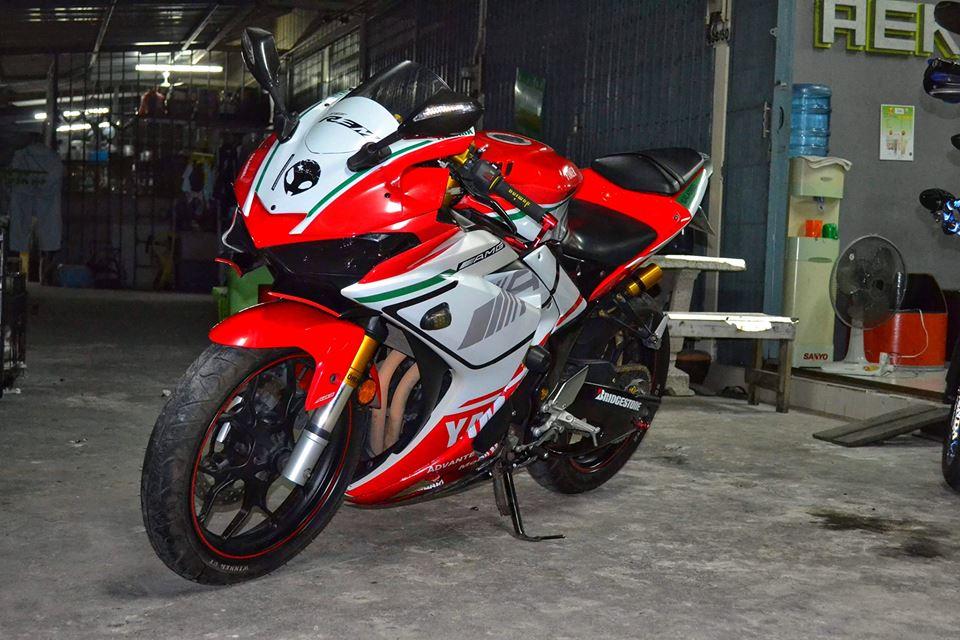 Yamaha R3 ban do khac biet mang ten R3M AMG V4 - 11