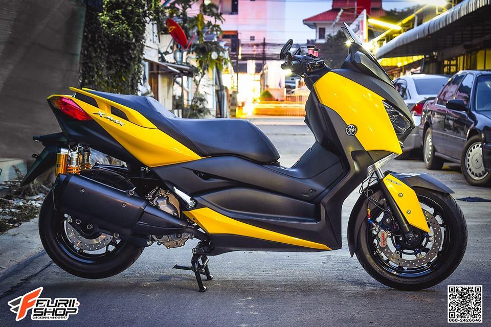 Yamaha Xmax 300 ban do day suc hut tren dat Thai - 10