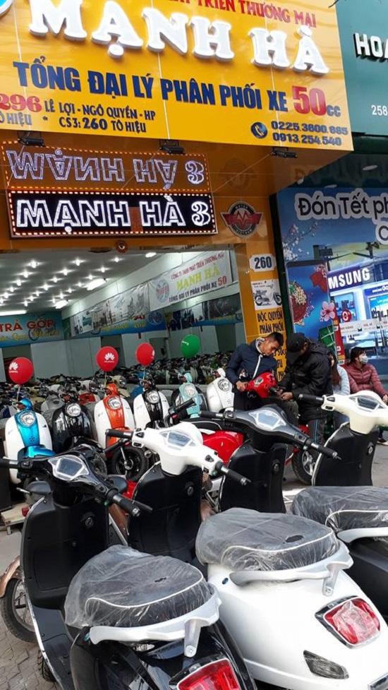 5 cua hang ban xe may dien Vespa tai Hai Phong uy tin chat luong nhat