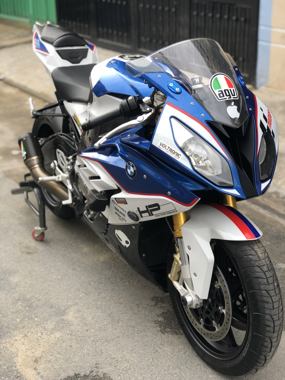 __Ban BMW S1000RR ABS date 72016 phien ban Chau Au Mam 7 cay Full Opstionodo hon 7000km xe dep