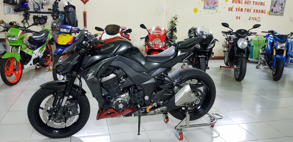 Ban Kawasaki Z1000ABSHQCN112015HISSChau AuSaigon so dep - 5