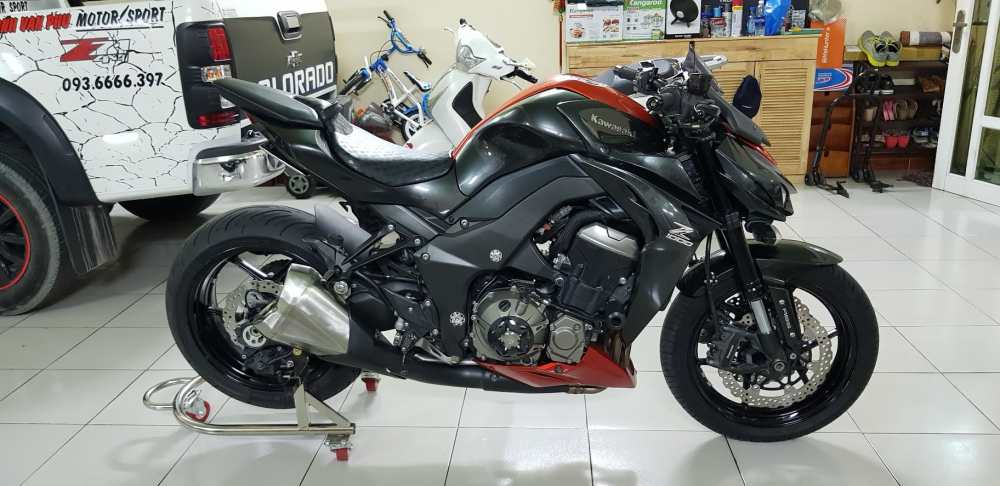 Ban Kawasaki Z1000ABSHQCN112015HISSChau AuSaigon so dep - 8