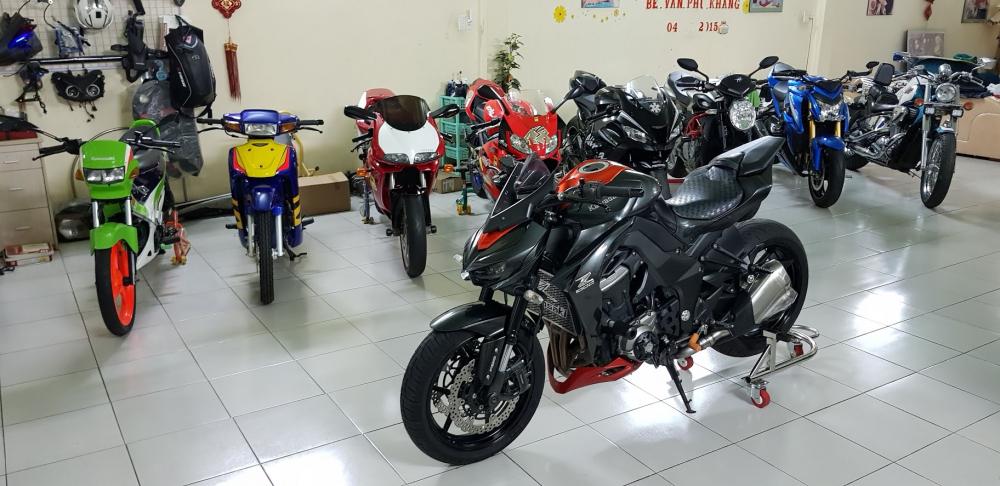 Ban Kawasaki Z1000ABSHQCN112015HISSChau AuSaigon so dep - 7