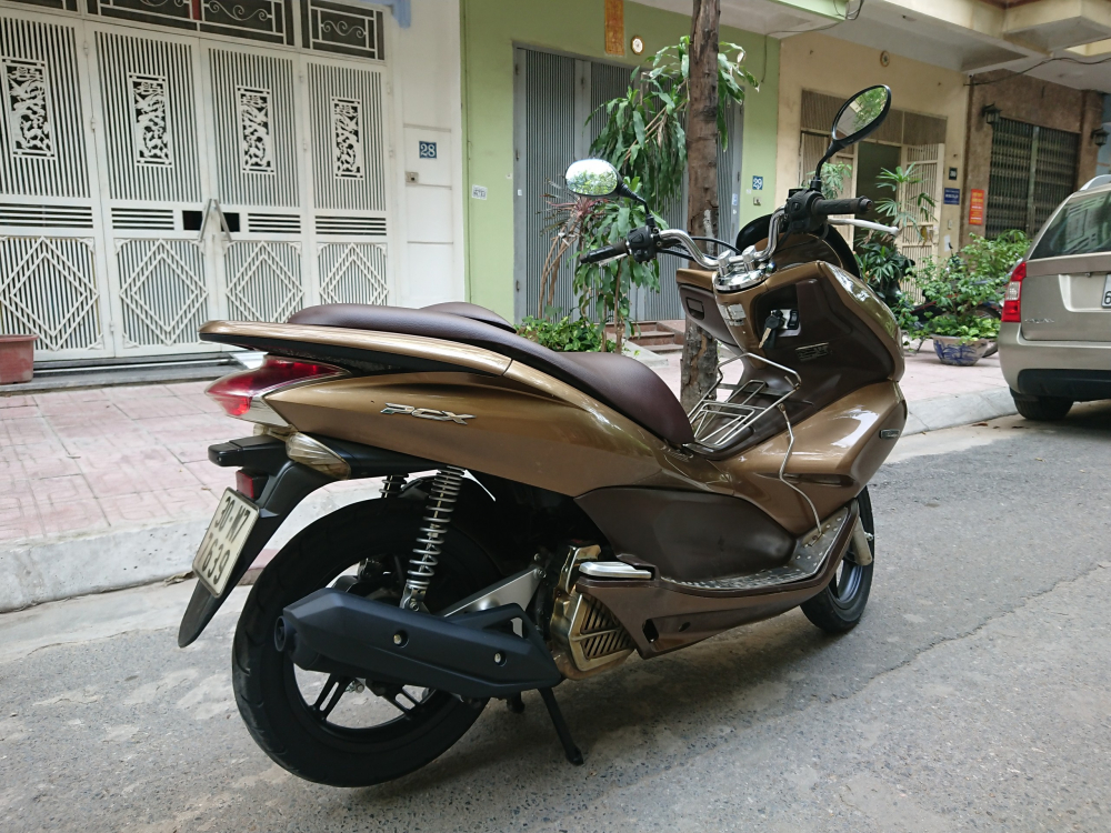 Ban xe Honda PCX 125 fi 2011 dong con moi chinh chu bien HN 26tr500 - 5