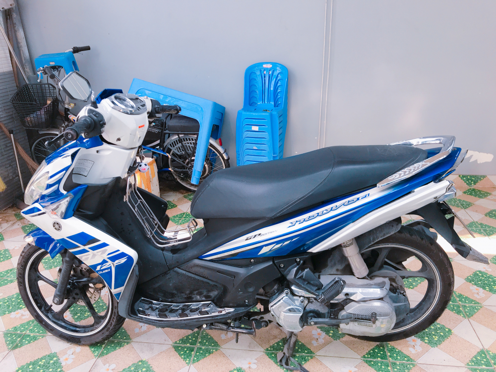 Ban xe Novo Xanh trang Binh Duong