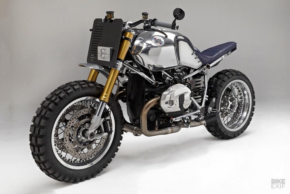 BMW RnineT ban thoat xac ngoan muc den tu Jane Motocycle - 3