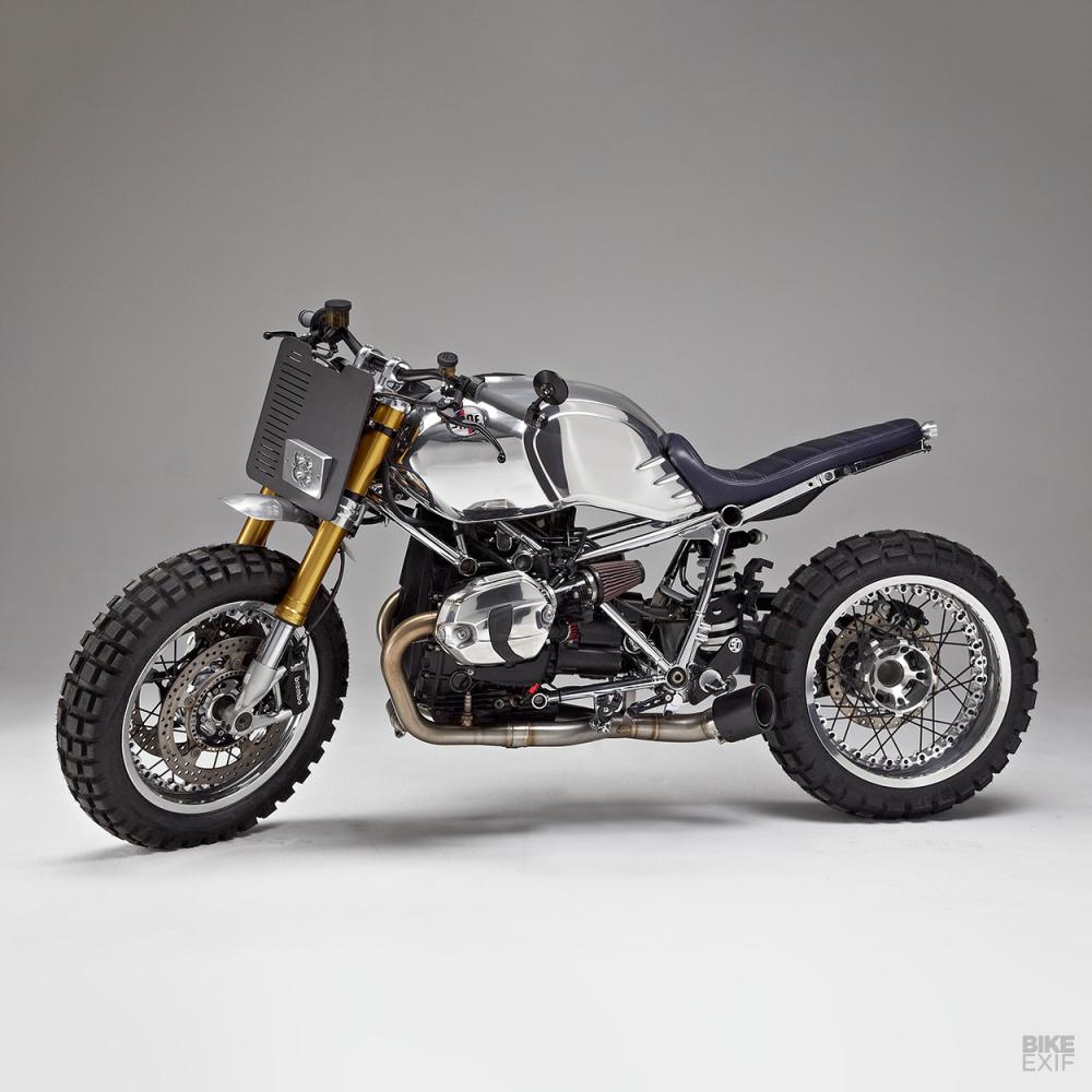 BMW RnineT ban thoat xac ngoan muc den tu Jane Motocycle - 7