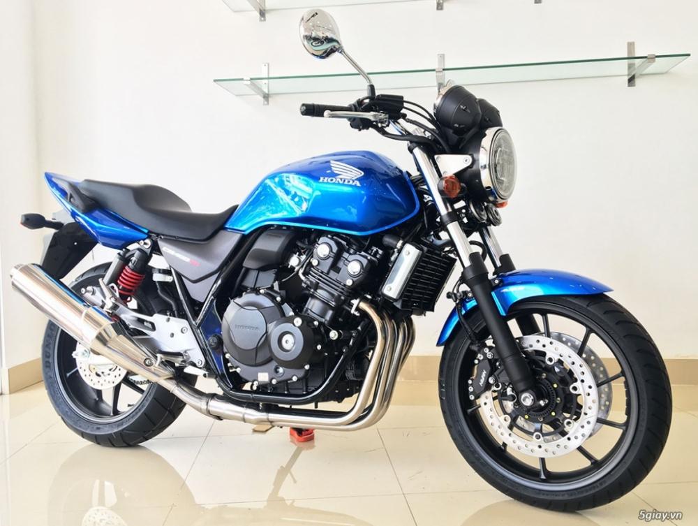 Can ban Honda CB400 2018 Super Four Mau Do Trang Den Xanh - 5