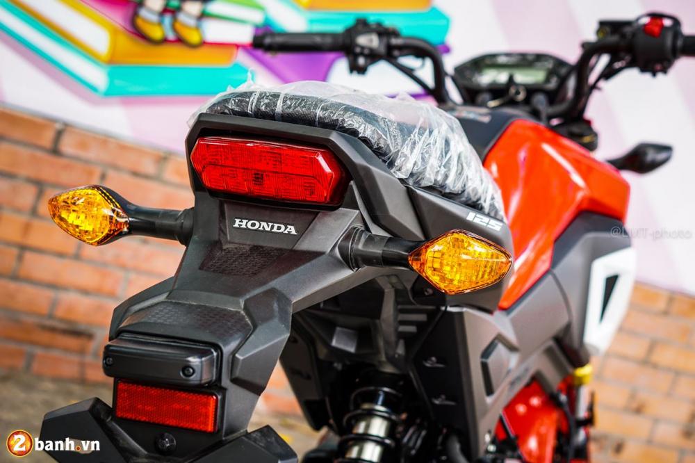 Can canh Honda MSX 125 2018 voi sac mau moi tre trung va ca tinh hon - 19