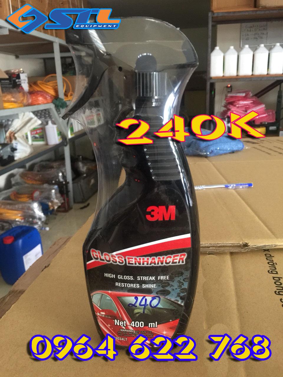 Chai xit danh bong nhanh 3M Gloss Enhancer 39034LT 400ml