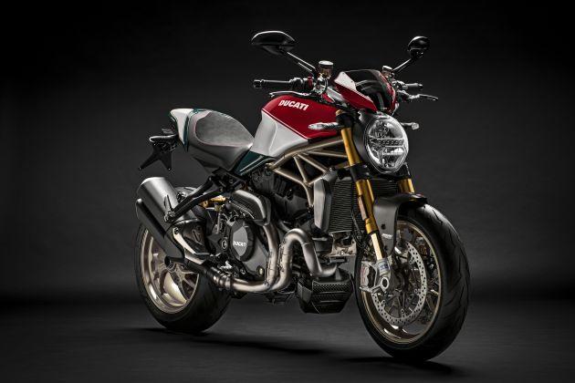 Ducati Monster 1200 phien ban ky niem 25 nam