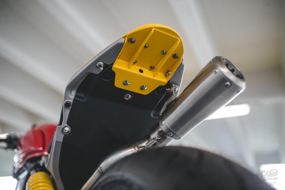 Ducati Scrambler 1100 ban do Cafe Racer den tu DeBolex - 9