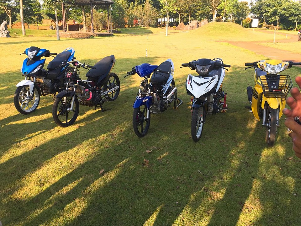 Exciter 150 do xe gio voi noi cong khung khiep cua biker Dong Nai - 8