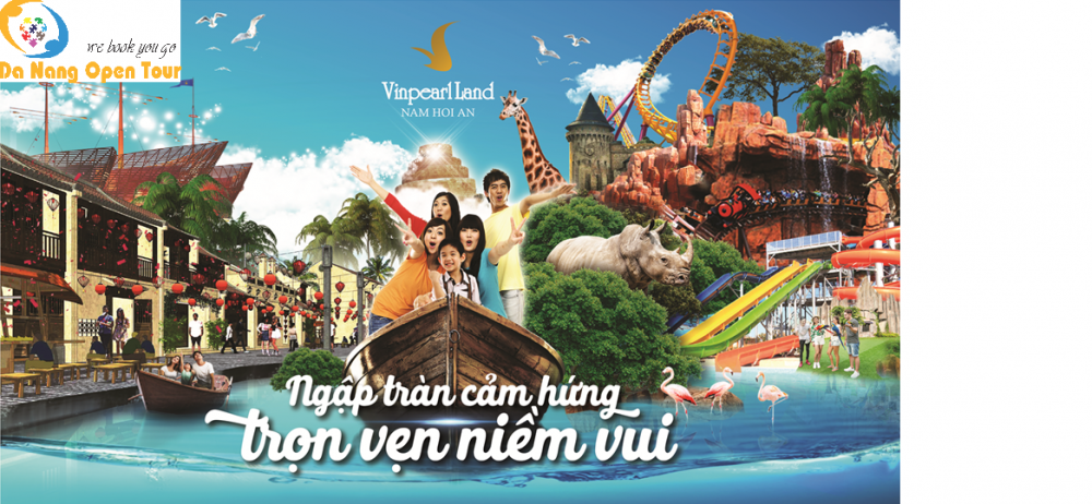 Gia ve Vinpearl Land Nam Hoi An