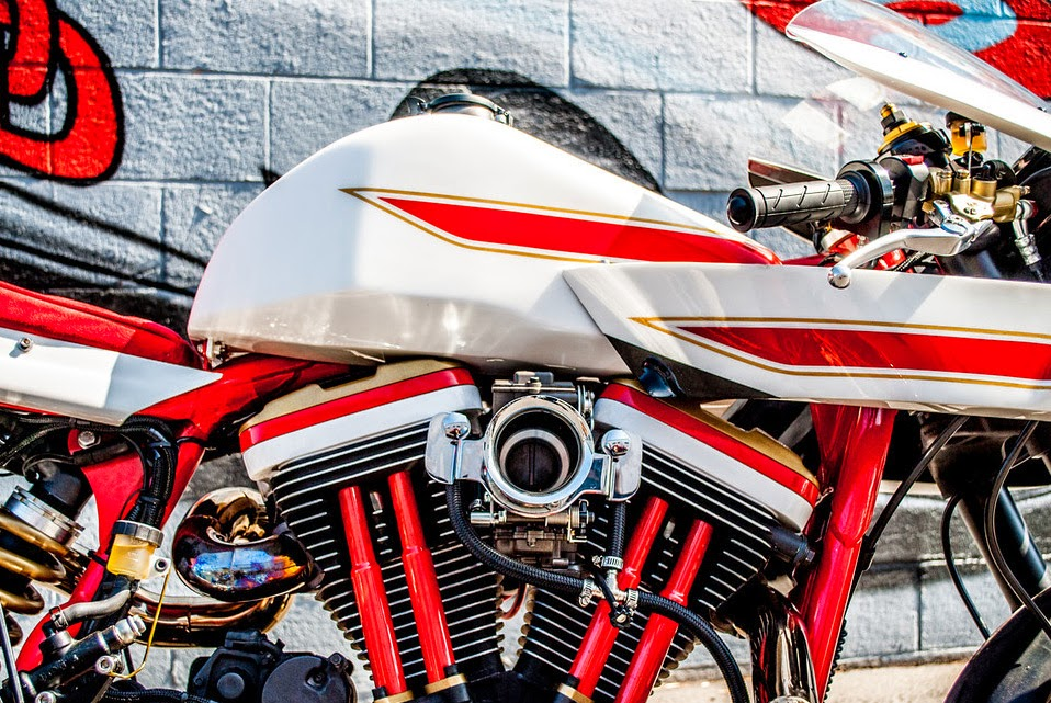 Harley Davidson Sportster XL1200 ban che tac phong cach Modern Retro - 4