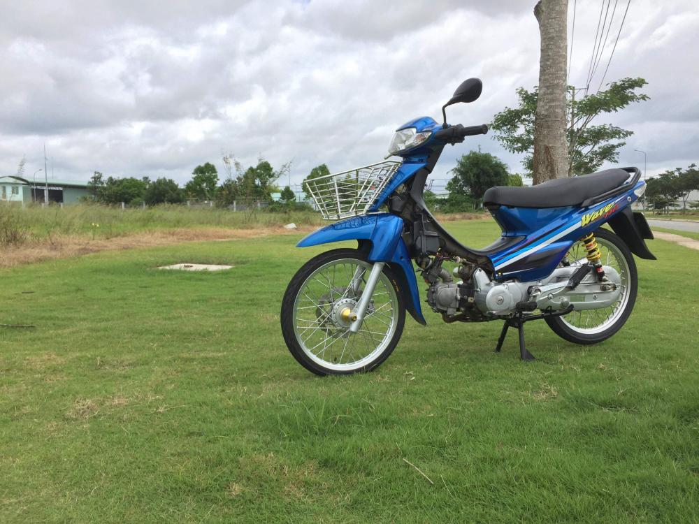 Ve Dep Hoai Co Den Tu Honda Wave Cua biker Tre Tuoi - 5