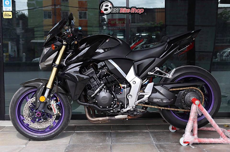 Honda CB1000R ban nang cap tu mau Nakedbike vang bong mot thoi - 17