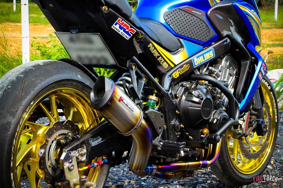 Honda CB650F day noi bat voi trang bi sac so - 4