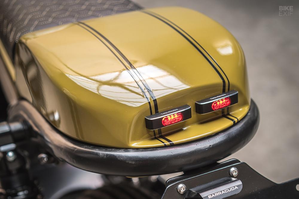 Honda CB750 ban do Cafe Racer tuyet voi den tu Ironwood - 6