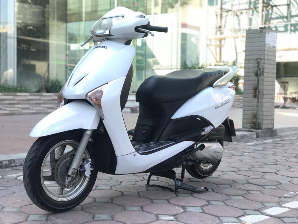 Honda Lead 110cc mau trang nguyen ban rat dep 2k10 - 4