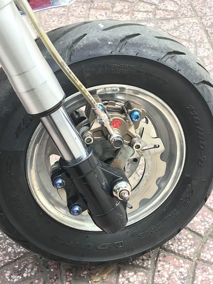 Honda Monkey 50cc Chu lun nhat ban niem dam me cua Nu Biker Viet - 6